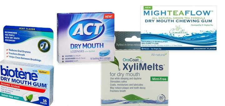 Gum for dry mouth