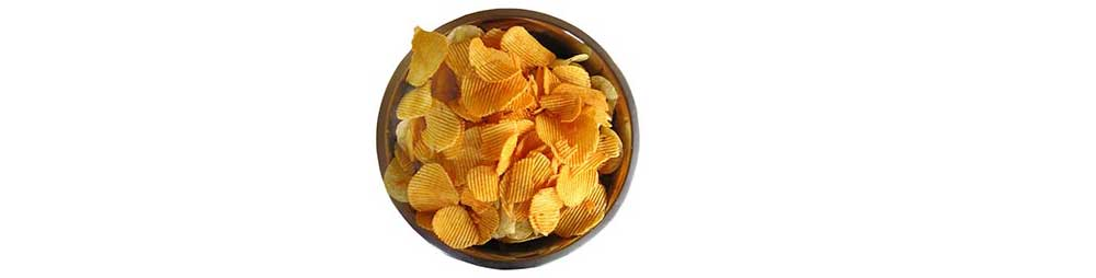 A bowl of chips