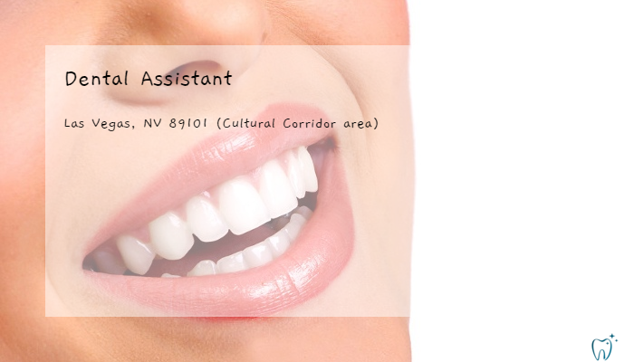 Ca 30 Resultater Part Time Dental Assistant Jobs Las Vegas Nv