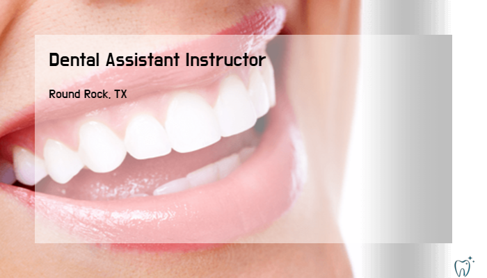 Dental Assistant Instructor Dental Assistant Schools Vandelay