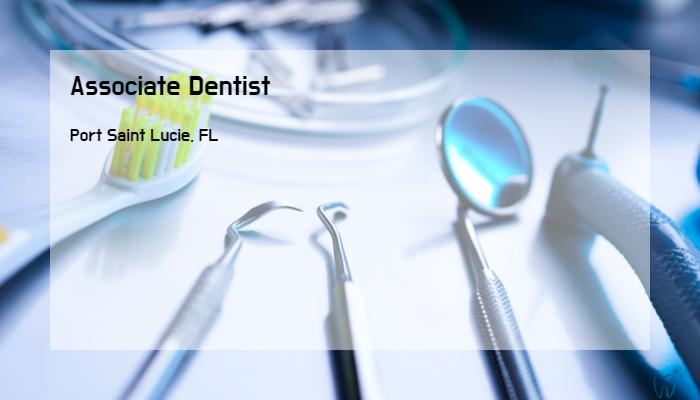 Associate Dentist Affordable Care Inc Port Saint Lucie Fl Best