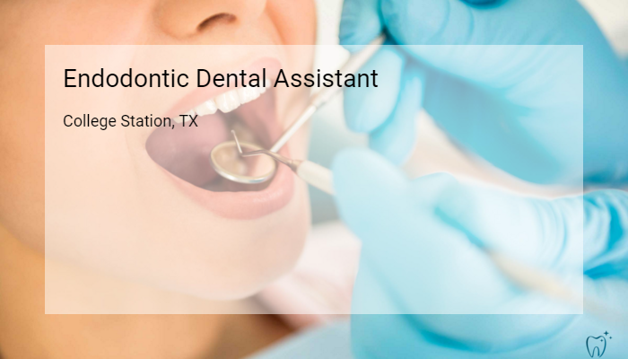 Endodontic Dental Assistant College Station Modern Dentistry College