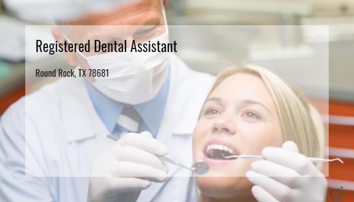 Registered Dental Assistant Transcend Dental Health Round Rock Tx